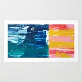 Desert Abstraction Art Print