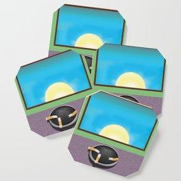 Pulp Sunrise Coaster