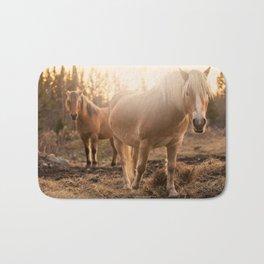 Horses v1 Bath Mat