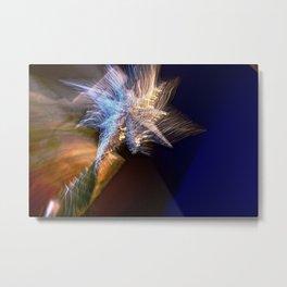 Abstract Star Of Wonder Metal Print