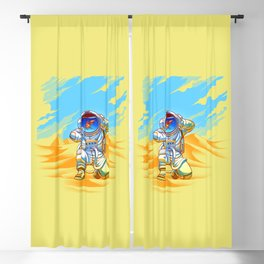 Adventure Goes Wrong Blackout Curtain