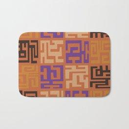 African Tribal Pattern No. 45 Bath Mat