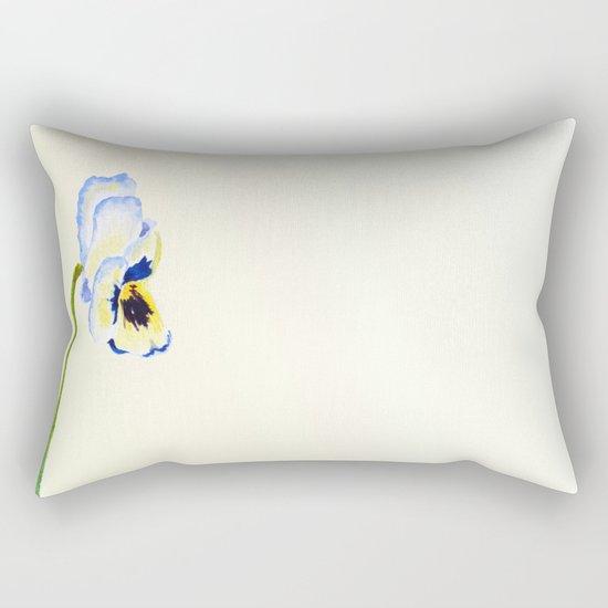 one  pansy Rectangular Pillow