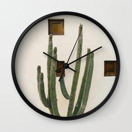 Cabo Cactus IX Wall Clock