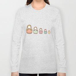 Matryoshka Madames Long Sleeve T-shirt