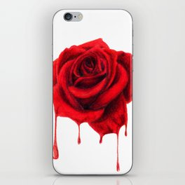Painting the Roses Red iPhone Skin