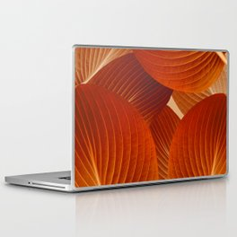 Leaves in Terracotta Color #decor #society6 #buyart Laptop & iPad Skin
