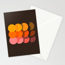 Sunset Discs Stationery Cards