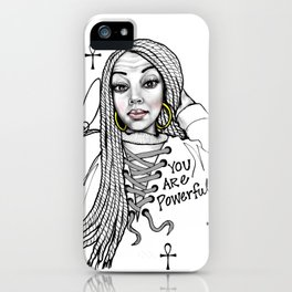 #STUKGIRL ASHLITA iPhone Case