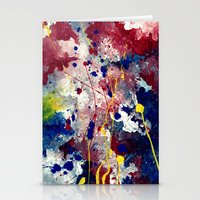 fireworks Stationery Cards featuring Fireworks by Tia Hank