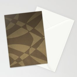 Wings and Sails - Beige and Brown Stationery Cards