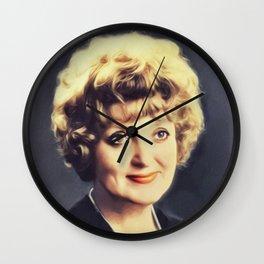Patsy Rowlands, Vintage Actress Wall Clock