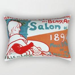 Liège 1896 Art salon Rectangular Pillow