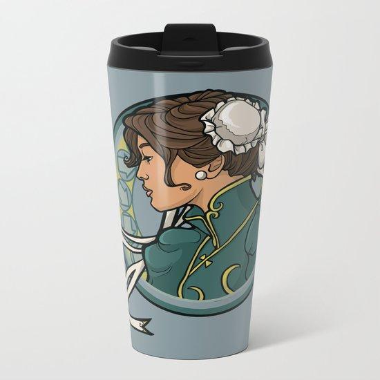 Chun-Li Nouveau Metal Travel Mug