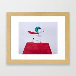 Snoopy Framed Art Print