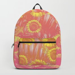 Sunflower Party #4 Backpack