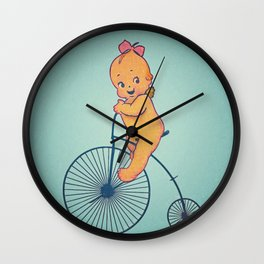 kewpie velocípedo. Wall Clock