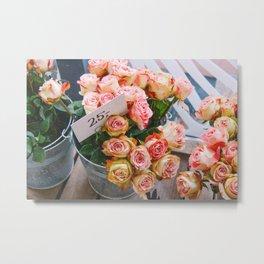 Blomster Metal Print