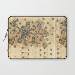 Silly Octopus Laptop Sleeve