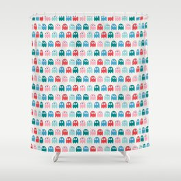 Little ghost Shower Curtain