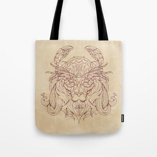 Lion Crab Tote Bag