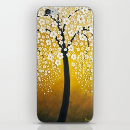 White Cherry Blossom Tree iPhone Skin
