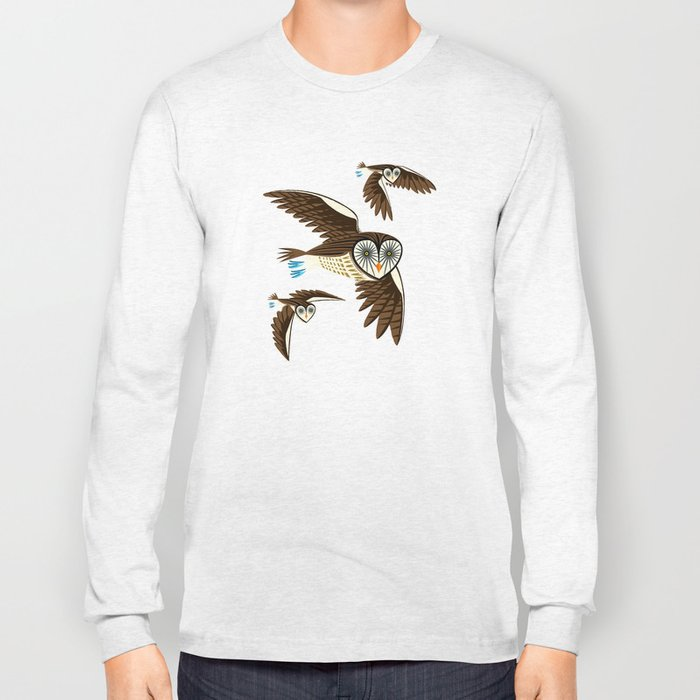 Owls On The Prowl Long Sleeve T-shirt