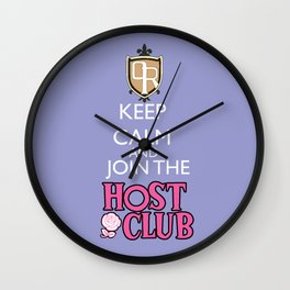 Ouran high school host club Wall Clock