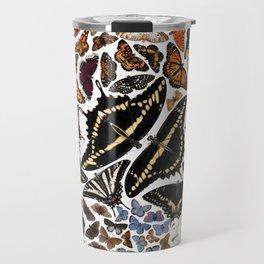 Butterflies of North America Travel Mug