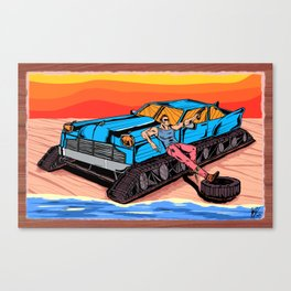 All Terrain: Beach Canvas Print