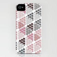 Diamond Floral Pattern iPhone (4, 4s) Slim Case