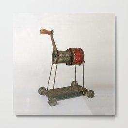 Horse No6 Sculpture by Annalisa Ramondino Metal Print