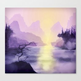 Halcyon Canvas Print