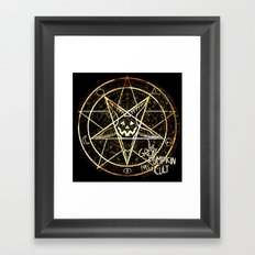 Cult of the Great Pumpkin: Pentagram Framed Art Print