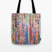 data Tote Bags featuring Data by Katie Troisi