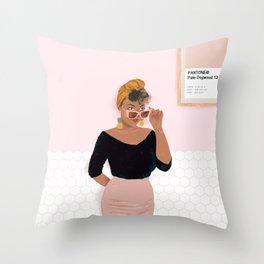 Babi Throw Pillow