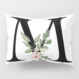 Botanical M Pillow Sham