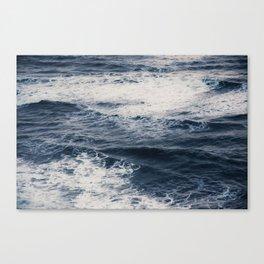 Crashing Surf Canvas Print