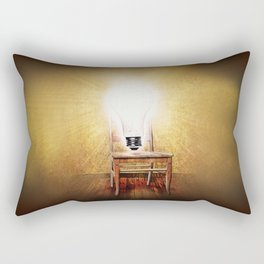 The Seat of Big Ideas Rectangular Pillow