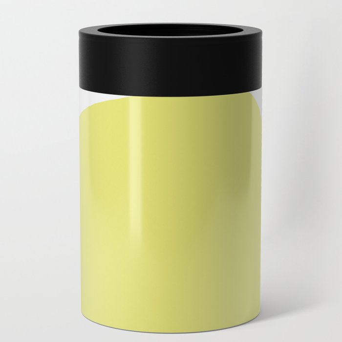 Abstract Shape Series - Yellow Arch Can Cooler