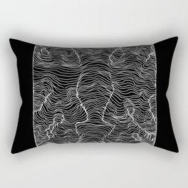 Vis a vis Rectangular Pillow