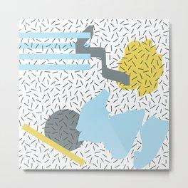 SONATA BLEU Metal Print