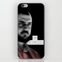 stanley kubrick iPhone & iPod Skins featuring MR. KUBRICK by JOCTV