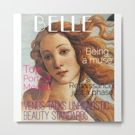 Renaissance Magazine Metal Print