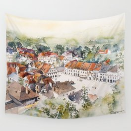 Old Marketplace in Kazimierz Dolny | Poland Wall Tapestry