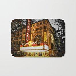 Chicago Theater Portrait No. 2 Bath Mat