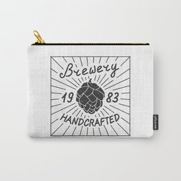 Brewery Handcrafted Fashion Modern Design Print! Beer style Carry-All Pouch
