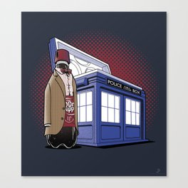 THE DOCTOR PEPPER  Canvas Print