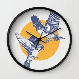 Sparrows Wall Clock