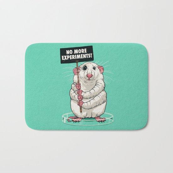 No more experiments! Bath Mat